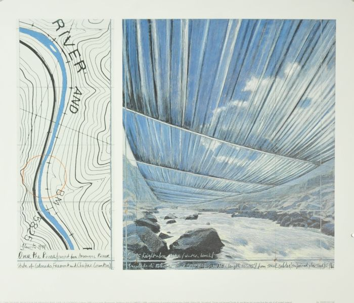 3 x Christo - Over the river