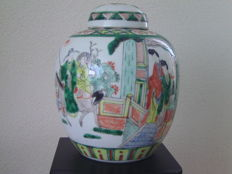Large ginger jar - China - approx. 1900