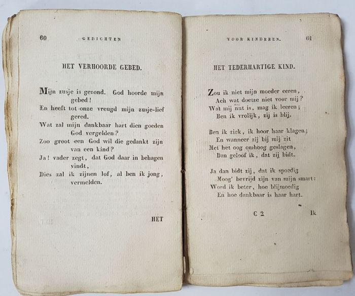 Hieronymus Van Alphen Two Collections Of Still Famous Poems