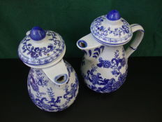 Antique Porcelain Teapot Lot