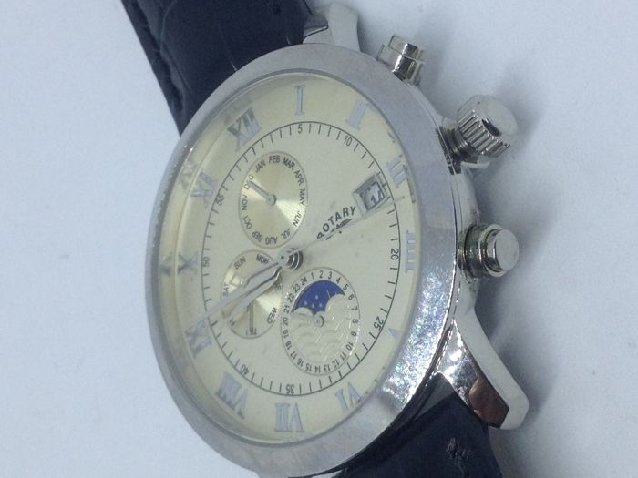 Rotary moonphase - Mens Watch
