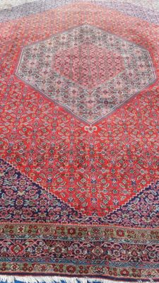 Beautiful XXL hand-knotted Persian Bidjar carpet, 400 x 307 cm (12.28m²)
