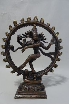 Bronze Shiva Nataraja - South-India - middle of the 20th century