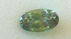 Alexandrite (chrysoberyl) with colour change – 1.02 ct