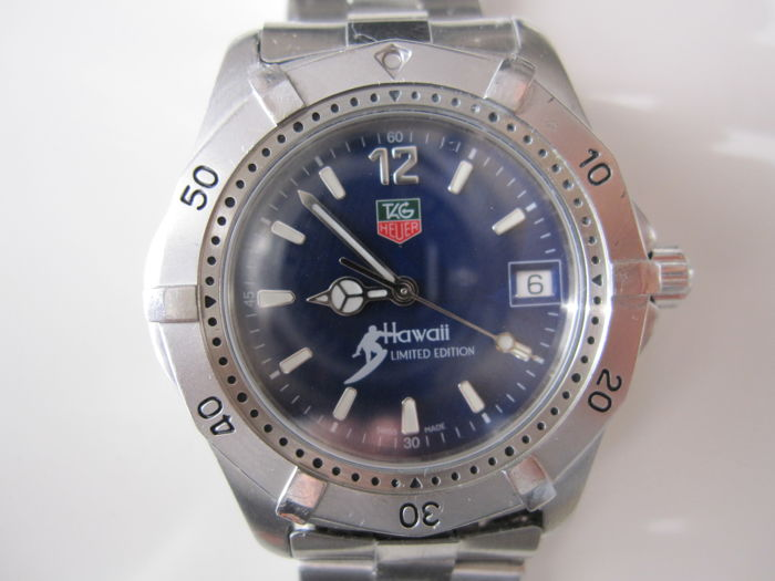 Tag Heuer Hawaii Limited Edition 600 Watches Men S Watch Catawiki
