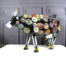 CowParade - The Moo Potter Extra Large - Meredith Mc Cord