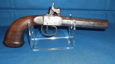 Long pistol with forced bullet calibre 17mm