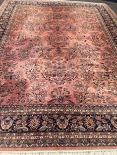 Oriental carpet India Sarough - 100% hand-knotted - Top Condition - investment