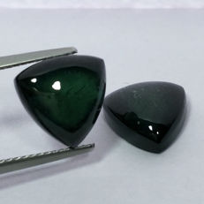 Tourmaline - 2 Pcs - 8.29 ct