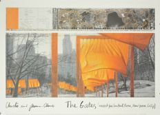 4 x Christo - Wrapped Reichstag, Over the River, 2 x The Gates