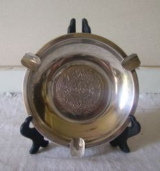 silver Ashtray / empty pocket /plat mex - S.A. / 20 th century