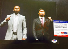 Manny Pacquiao - Signed photo 20x25 cm - with certificate of authenticity PSA/DNA