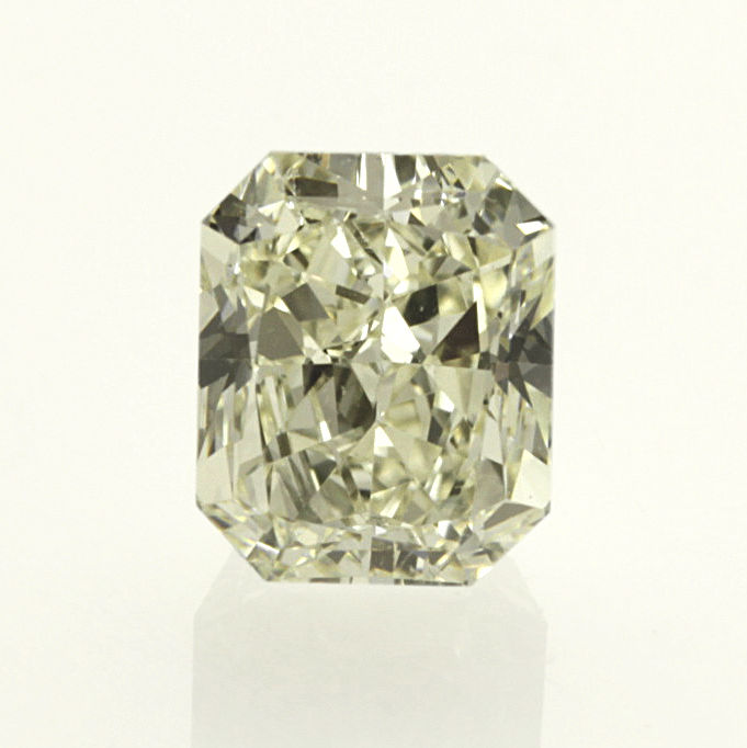 1.51 ct. radiant cut diamond light yellow (U-V) VS1 **LOW RESERVE PRICE**