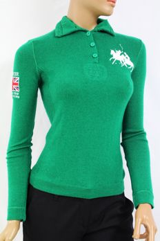 Ralph Lauren - Cashmere long sleeve blouse