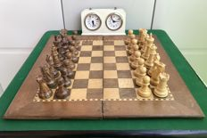 Chess - reproduction of The Game of the Century Fischer vs. Spassky