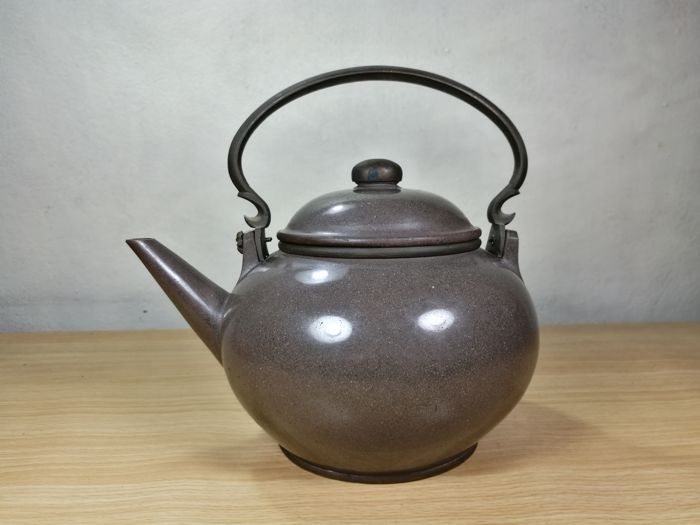 Antique Chinese Teapot YiXing Clay - 19th century