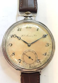H. Moser & Cie, marriage wristwatch, Switzerland, 1925
