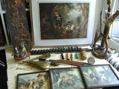 Collection of hunting objects