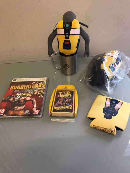 Set of old Borderlands merchandise - real cool hard to find - Catawiki
