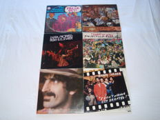 "Zappa/Mothers Of Invention. A Superb Lot Of 5 Lp's (4 Double) + A Limited Edition 12"": Freak Out, Over-nite Sensation, Roxy & Elsewhere, Tinseltown Rebellion, You Are What You Is + I Don't Wanna Get Drafted!"