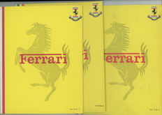 3)   Ferrari Owners Club books 1973  Vol 5 ,1,2, 3