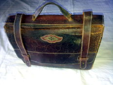 Vintage leather bag of the legendary  MORGAN
