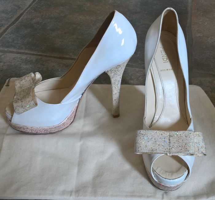 26b403ce095 Fendi – High-heeled open toe court shoes –   No reserve price ...