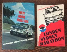 DAF - 2 rare books 1960s and 1970s.