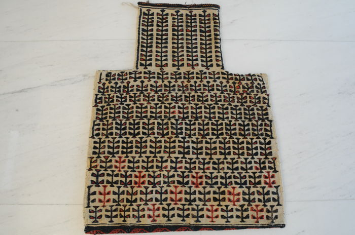 Exceptional Salt Bag, Beludj, around 1920, ca. 70 x 54 cm