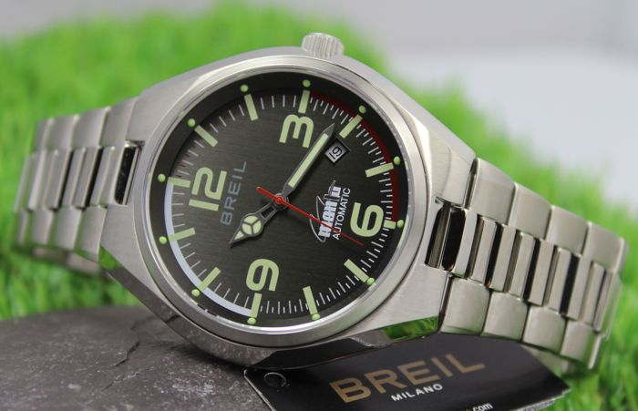 Newamp; Manta Catawiki Professional Automatic Stainless Watch Mint Condition Breil Steel OkZTPXliuw