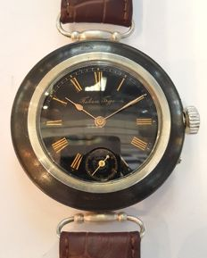 Paul Buhre, rare marrage wristwatch, Switzerland, 1900s