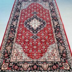 Magnificent Isfahan oriental carpet – 162 x 93 – 1,000,000 knots/m2 – SUPERB APPEARANCE