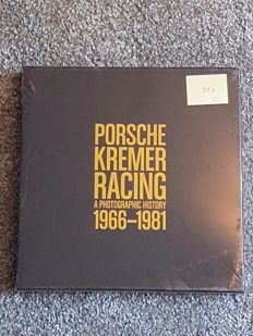 Porsche Kremer Racing; A photographic History 1966-1981; limited in 1000 pieces, no. 0551 of 1000