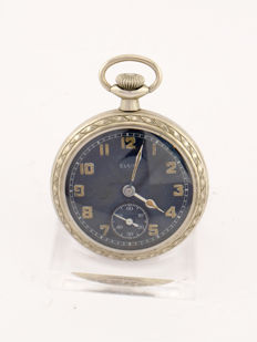 Elgin pocket watch, observation watch, military, 1940s