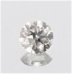 0.50 Carat - Brilliant Cut Round Diamond - F color - SI1 clarity - IGL certified - Laser Inscripted - Original Image