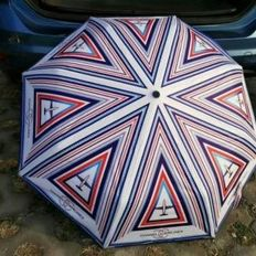 Umbrella of Chanel Airlines collection
