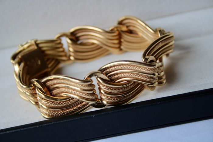 solid wishlist curb chunky add men yellow mens gold s shop to bracelet loading