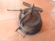 One of the first domestic pressure cookers