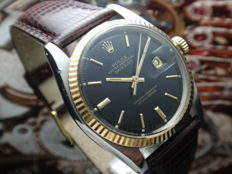 ROLEX 1973 RARE 1601 OYSTER PERPETUAL DATEJUST - Men's