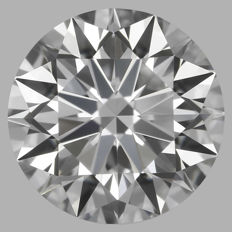 0.50 ct Round Brilliant Diamond DIF GIA Serial# 1970-orginal-image-10X
