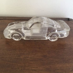Crystal glass Porsche 1980 - 18 cm