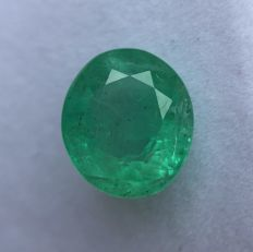 Emerald - 5.92 ct - No Reserve