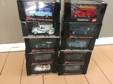 Brumm - Scale 1/43 - Lot with 10 models: 10 x Fiat 500