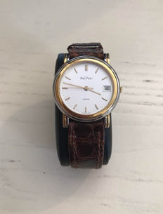 Paul Picot Automatic Steel/Gold with date display. 5026 – Men's wristwatch