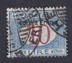 Italian Eritrea – 1903, top value from the postage due series.