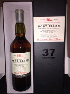 Port Ellen 37 years old 16th Release - 55.2% 70 cl - OB