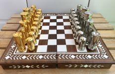 Jewellery chess - gold design