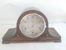 pendulum clock for dinette or kitchen with inlaids, 4 hammer Westminster sound