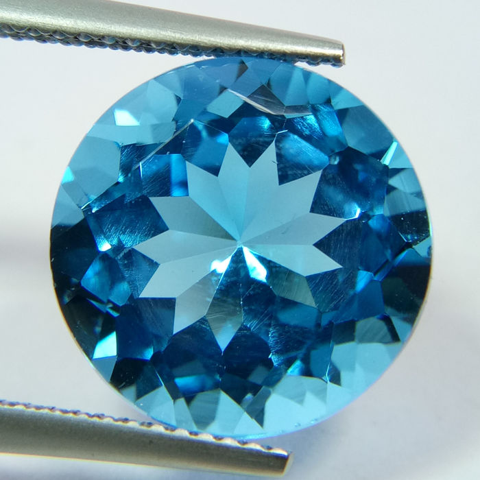 Swiss Blue Topaz- 10.57 ct