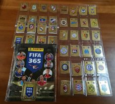 Panini - Fifa 365, 2017 - Empty album + complete unglued set of stickers.